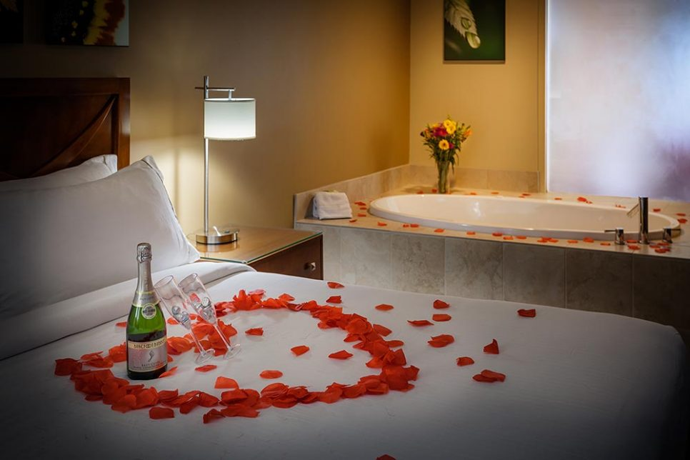 Hotel Room Wedding Romance