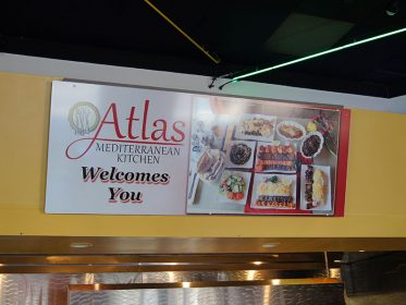 Atlas Menu Sign