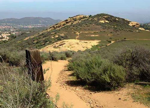 Long Canyon Trail Feature