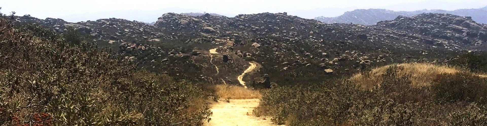 Rocky Peak Trail Header