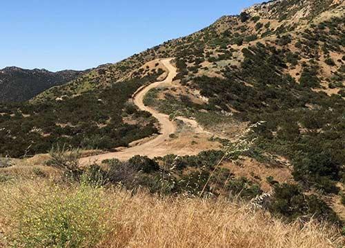 Las Llajas Trail Feature